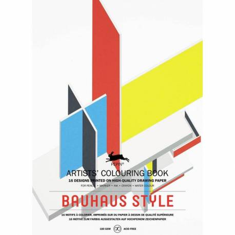 Colouring Book Bauhaus