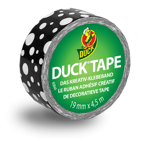 Duck Tape Duckling - Mod Dots