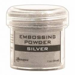 Embossing Puder 28g silver