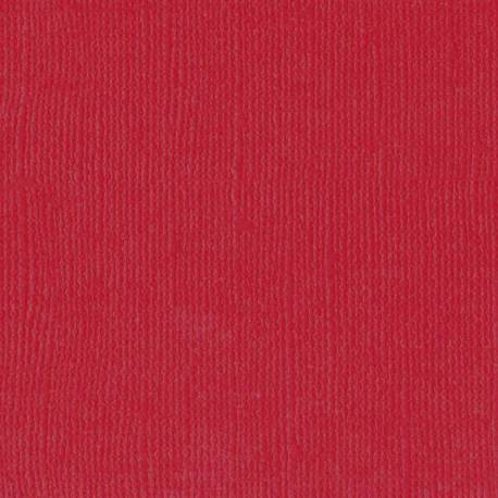 "Florence cardstock texture 12x12"" 216gram ruby"