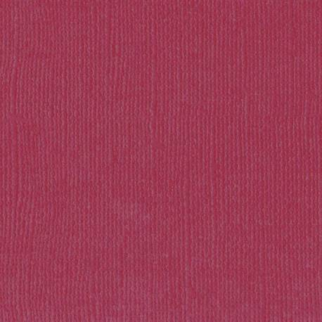 "Florence cardstock texture 12x12"" 216gram cassis"
