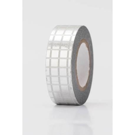 Tape GITTER SILBER, HOT FOIL
