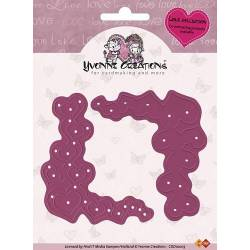 Stanzschablone / Die - Yvonne Creations - Love - Corners