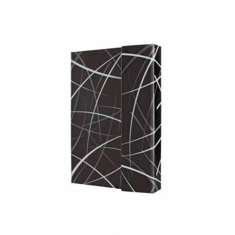 Notizbuch CONCEPTUM , Design Sphere, Hardcover, liniert schwarz, weiß 11,5 x 15 x 2,05 cm