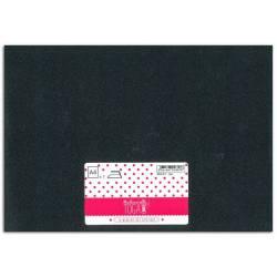 Bügelfolie Glitter sheet A4 Black