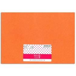Bügelfolie Glitter sheet A4 Orange fluo