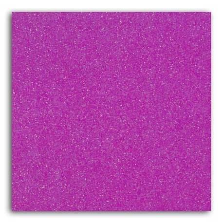 Bügelfolie Glitter sheet A4 Purple fluo