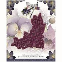 Stanzschablone / Die - Precious Marieke - Voorjaars Collectie 2 - Corner Swirl