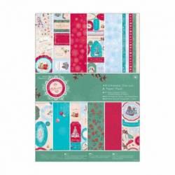 A4 Ultimativer Stanz- & Papierblock (48Bl) - Bellissima Christmas