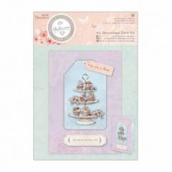 A5 Decoupage Card Set - Bellisima - Cupcakes