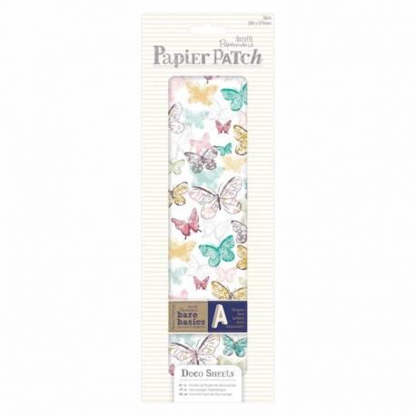 Decoupage Papierbögen (3Stk) - Papier Patch - Butterflies