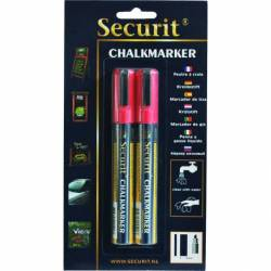 Kreidemarker red - medium 2-6mm Spitze
