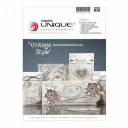 "Unique Magazin Unique Hobby Magazine ""Vinatge Style"" nr. 2"