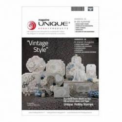 "Unique Magazin Unique Hobby Magazine ""Vinatge Style"" nr. 3"