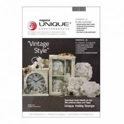 "Unique Magazin Unique Hobby Magazine ""Vinatge Style"" nr. 4"