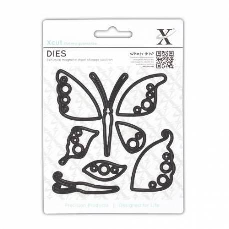 Stanzschablonen Dekorativ (8Stk) - Schmetterlinge