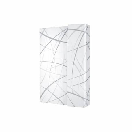 Notizbuch CONCEPTUM , Design Sphere, Hardcover, liniert grau, weiß 11,5 x 15 x 2,05 cm