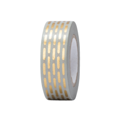 Tape GESTRICHELT GOLD, HOTFOIL