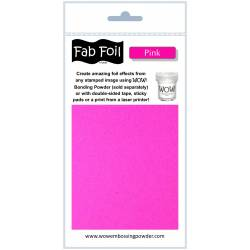 Wow Fab Foil - Pink