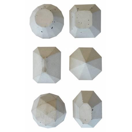 Silikonform - Diamanten