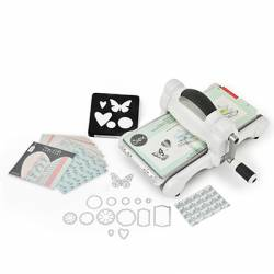 Sizzix Big Shot Starter Kit - grau / weiß - Set 2016