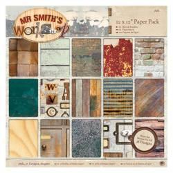 30 x 30cm Papierblock (36Bl) - Mr Smith's Workshop