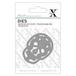 Mini Die / Stanzschablone (1pc) - Mexican Skull
