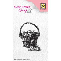 Clear stamps /Silikonstempel - Spring Easter eggs