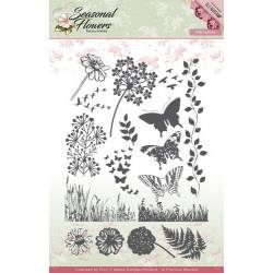 Clearstamp / Silikonstempel - Precious Marieke - Seasonal Flowers