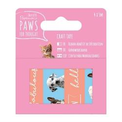 Dekoklebeband (4pcs) - Paws for Thought