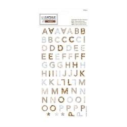 Alphabet Thicker Stickers (169pcs) - Elements Wood