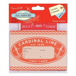 Travel Labels (24pcs) - All Aboard