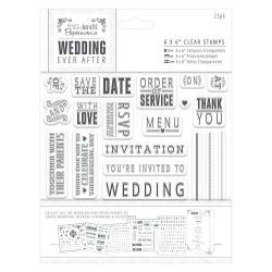 6 x 6 Clear Stamps - Sentiments