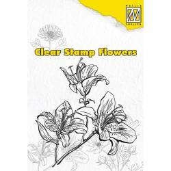 Clear stamps / Silikonstempel flowers Lily