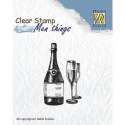 Clear stamps - Men things - Wine