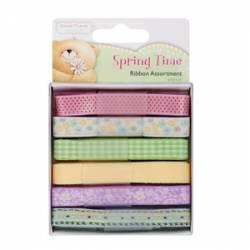 Ribbon (6 x 1 mtre) - spring time