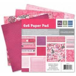 Crazy for you Papier Block x36