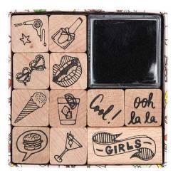 Stempelset Magic - For Girl