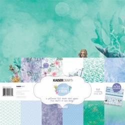 "Kaiser Craft paper pack 12x12"" mermaid tails"