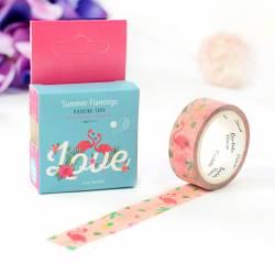 Washi Tape - Flamingo