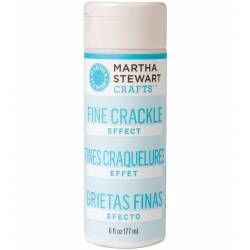 Martha Stewart - Fine Crackle Effect