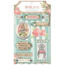 Bo Bunny soiree layered chipboard