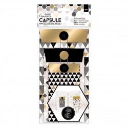 Envelope Bags (6pcs) - Capsule - Geometric Mono