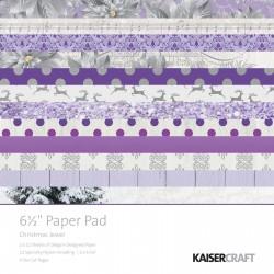 Kaisercraft paper pad 16,5x16,5cm Christmas jewel