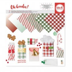 "We R Memory Keepers Oh goodie! 12x12"" x24 christmas"
