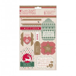 A5 Topper gestanzt (2Bl) - Craft Christmas