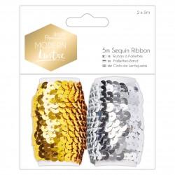 5M Paillettenband (2Stk) - Modern Lustre