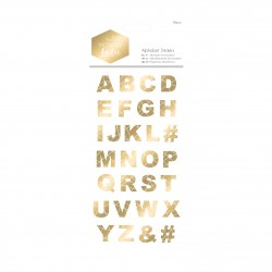 Alphabet Sticker - Modern Lustre