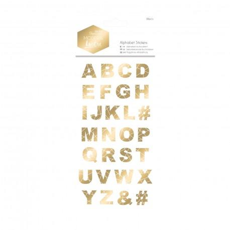 Alphabet Sticker - Modern Lustre