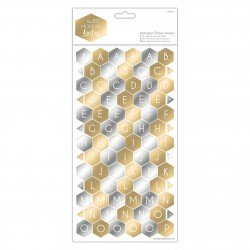 Alphabet Kartonsticker (168Stk) - Modern Lustre